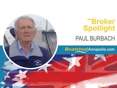 Paul Burbach - Boatshed USA | Boatshed Annapolis Broker