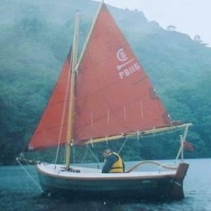 Character Boats 'Post Boat' Trailer Sailer, Plymouth