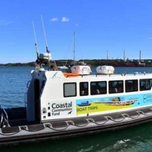 Discover Coast and Cleddau boat trips launched at Milford Waterfront