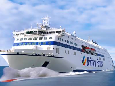 Two new hybrid ships for Brittany Ferries' UK-France operations