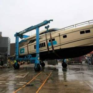 Fairline Yachts' last Squadron 78 leaves factory
