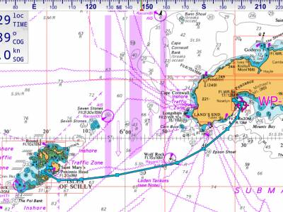 Circumnavigating the UK in a Leisure 27, Part 19 - Newlyn - Tresco