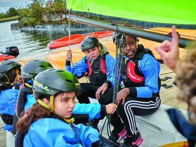 RYA awarded further £150,000 of Tackling Inequalities Funding