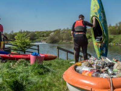 New River Thames 'source to sea' pollution data finds majority of litter found is single-use