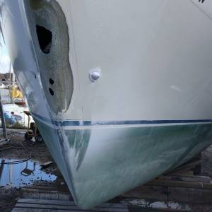GRP Yacht Damage and Repair - What Can Be Done?