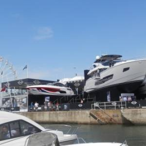 Britain's biggest boating festival on the water