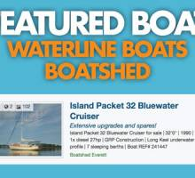 Waterline Boats/Boatshed Featured Boat – Island Packet