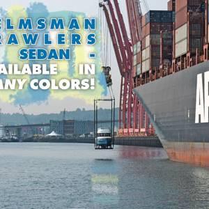 Helmsman Trawlers 31 Sedan in Blue