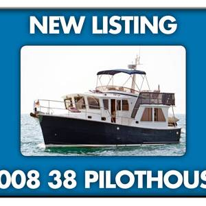 2008 Helmsman Trawlers 38 Pilothouse