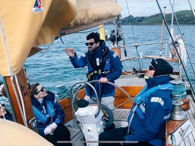 Sailing charity opens doors to NHS staff fighting pandemic