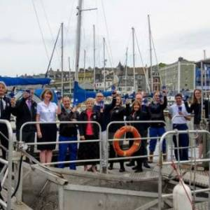 Sutton Harbour joins One Plymouth Cup initiative to help keep harbour clean