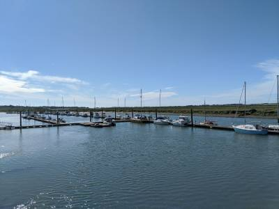 Around the coast and rivers of Essex : Bridgemarsh Marina