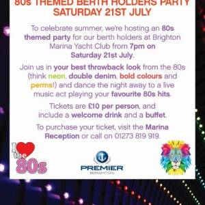 It's Party Time For Brighton Berth Holders!