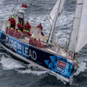 DARE TO LEAD STEALS MAIDEN VICTORY IN CLIPPER RACE TO PANAMA