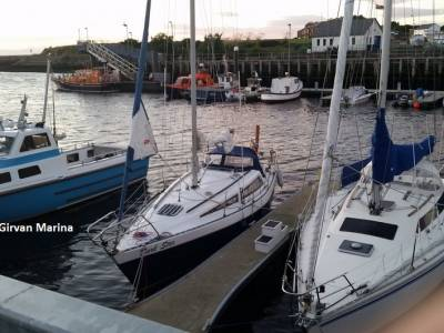 Circumnavigating the UK in a Leisure 27, Part 12 - Ardrishaig to Stranraer