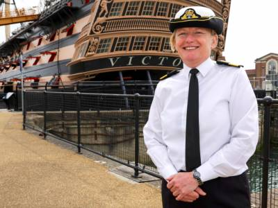 Royal Navy finally appoints first woman admiral