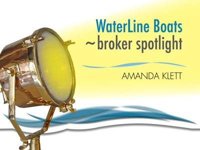 Waterline Boats Broker Spotlight | Amanda Klett