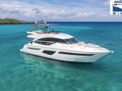 Princess Yachts launches the F50 and celebrates F55 'Best Flybridge' Award
