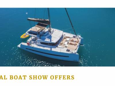 Offers from Dream Yacht Charter for Southampton Boat Show visitors