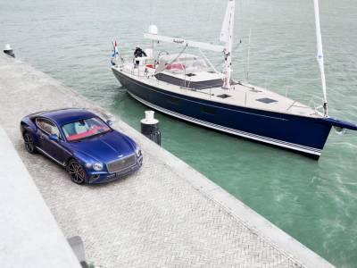 Bentley's car interior inspires luxury yacht design