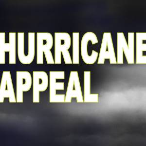 Hurricane IRMA Appeal - How can you help?
