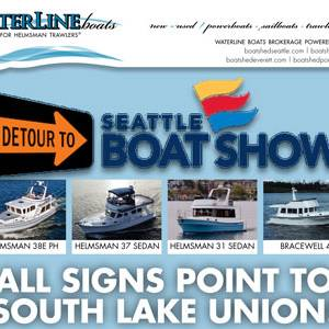 Waterline Boats at the Seattle Boat Show!