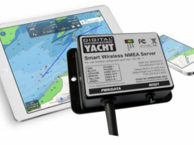 Digital Yacht unveils new smart NMEA interface for tablet and iPad navigation at Southampton Boatshow