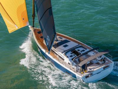 Dufour Yachts showcases Dufour 470 at SIBS