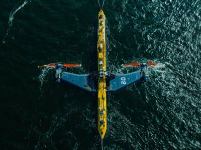 'World's most powerful' wave turbine gets to work