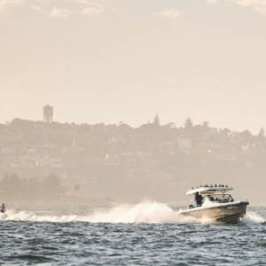 Mercury Marine's new 300hp V-8 Verado outboards to power attempt at marathon water-skiing world record