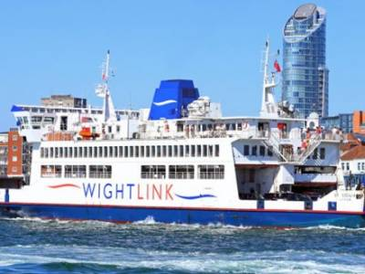 End of an era for Wightlink's St Cecilia ferry