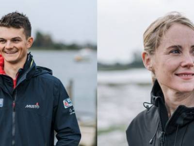 Sarah Ayton and Sam Whaley to present RYA Dinghy Show 2020
