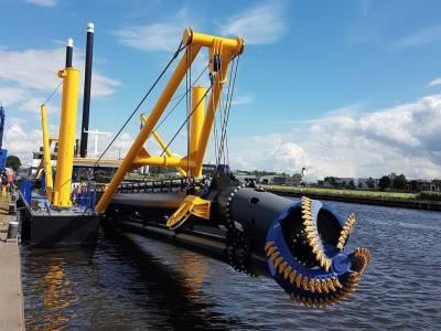 Damen to deliver dredger to landlocked Paraguay