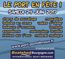 Fête du Port PONT DE VAUX  24 Juin 2017