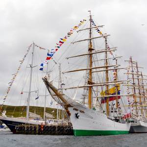 Tall Ships Races return to Lerwick