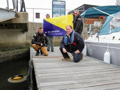 Boskalis funds Seabin for Hythe Marina Village