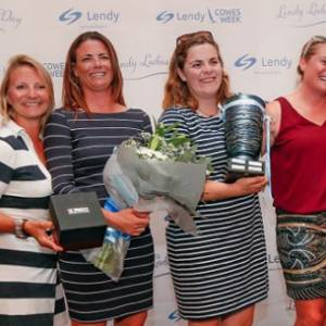 Tracy Edwards Scoops Lendy Ladies Day Trophy at Lendy Cowes Week