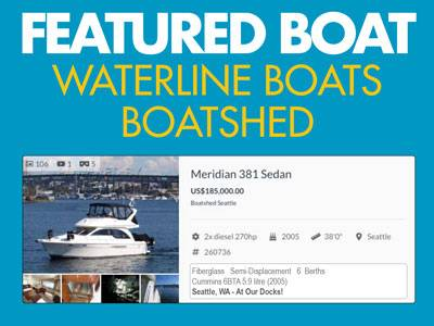 Waterline Boats / Featured Boat – Meridian 381 Sedan