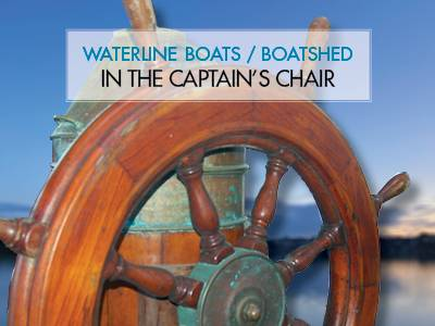 In The Captain's Chair - Albion 37 Trawler Yacht