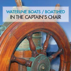 Waterline Boats / Boatshed In the Captain's Chair - Helmsman Trawlers 38 Pilothouse