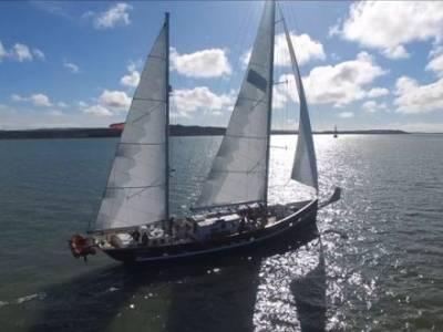Sailing voyage with the Ocean Youth Trust South