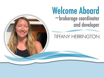 Waterline Boats Welcomes Tiffany!