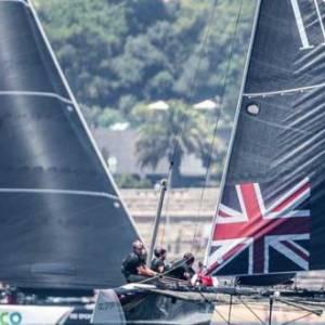 Swiss clean sweep in Extreme Sailing Series™ Cascais showdown