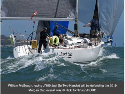 Morgan Cup Race bound for Dartmouth