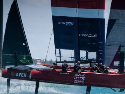 Great Britain SailGP team launches climate change education resource