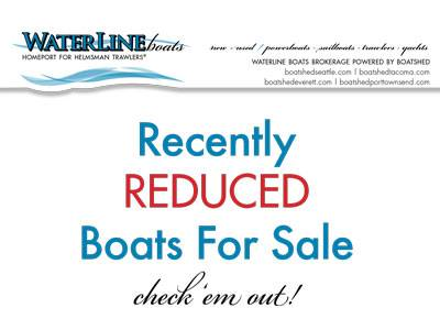 Recently Reduced Boats For Sale at Waterline Boats