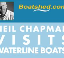 Boatshed Founder Neil Chapman Visits Waterline Boats