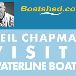 Boatshed Founder Neil Chapman Visits Waterline Boats