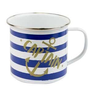 Captain Tin Mug