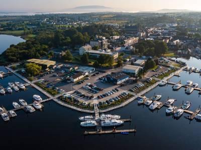 Boardwalk upgrade improves marina access on the River Shannon